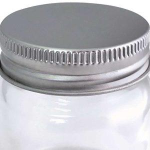 2oz Mini Mason Jar Shot Glassees Lids