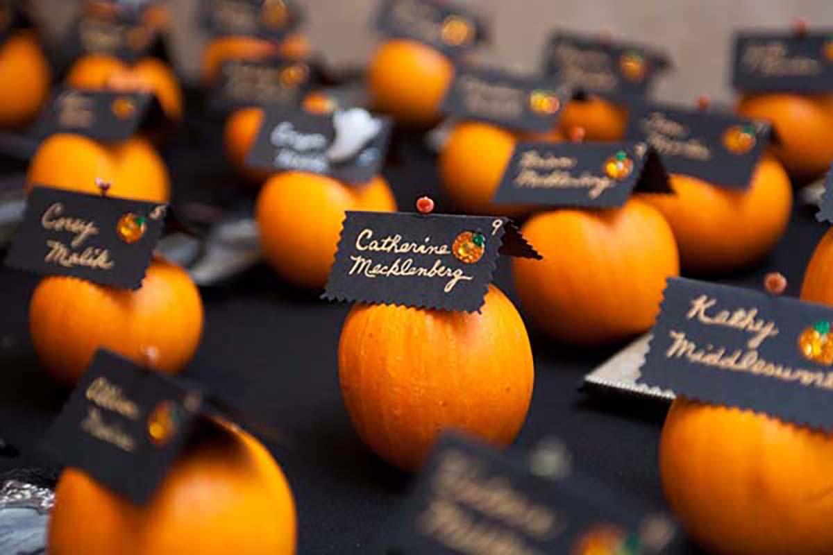 25 Inspiring Fall Pumpkin Themed Wedding Ideas That Wedding Shop
